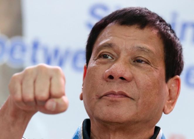 Duterte | Photo by Inquirer.net